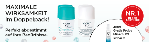 VICHY DEO Roll-on Doppelpack - AKTION
