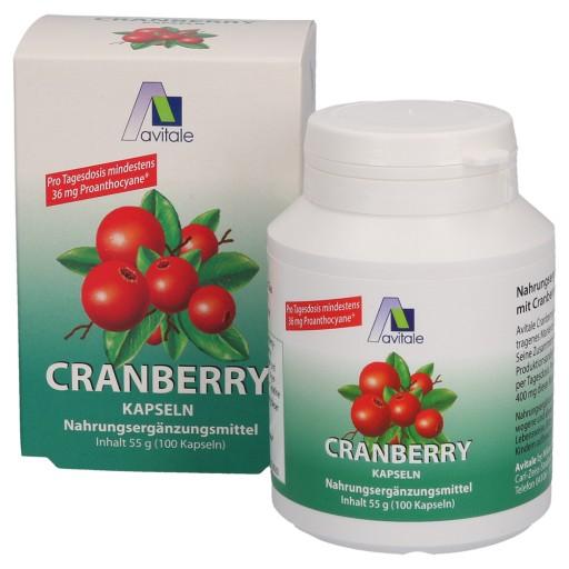Wirkung pille kapseln cranberry Cranberry Plus
