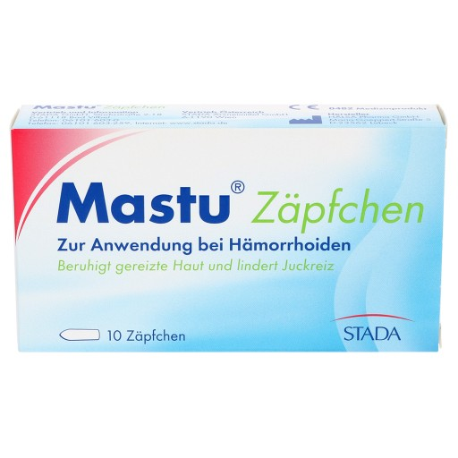Mastu Zäpfchen 10 St Medikamente Per Klickde