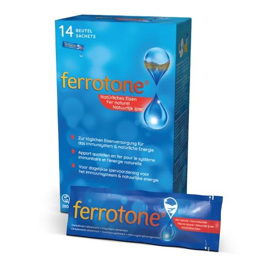 Relativ Ferrotone® - Der flüssige Eisenlieferant aus natürlicher Quelle YQ49