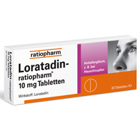 LORATADIN ratiopharm 10 mg Tabletten - 20St - Allergien