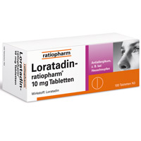 LORATADIN ratiopharm 10 mg Tabletten - 100St - Allergien
