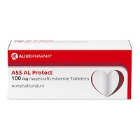 ASS AL Protect 100 mg magensaftres.Tabletten - Blutverdünnung