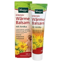 KNEIPP Intensiv Wärme Balsam mit Arnika - 100ml - Beauty-Box November 2015