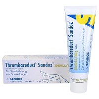 THROMBAREDUCT Sandoz 30.000 I.E. Salbe - 100g - Heparinpräparate