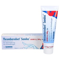 THROMBAREDUCT Sandoz 60.000 I.E. Gel - Heparinpräparate