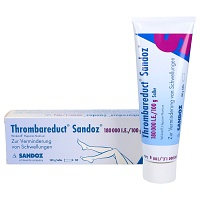 THROMBAREDUCT Sandoz 180.000 I.E. Salbe - 100g - Heparinpräparate