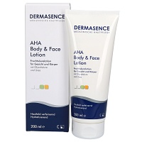 DERMASENCE AHA body and face Lotion - Hautpflege