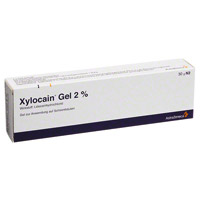Xylocain gel auf die eichel