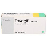 TAVEGIL Tabletten - Allergien