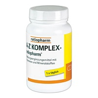 A-Z Komplex-ratiopharm Tabletten - Multivitamin