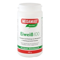 EIWEISS 100 Himbeer Quark Megamax Pulver - 400g - Nutrition