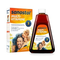 SANOSTOL Saft - 460ml - Multivitamin