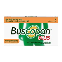 BUSCOPAN plus Suppositorien - 5St - Regelschmerzen