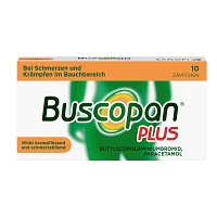 BUSCOPAN plus Suppositorien - 10St - Blähungen & Krämpfe