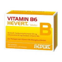 VITAMIN B6 Hevert Tabletten - 200St - Vegan