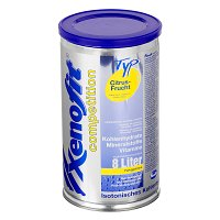 XENOFIT competition Citrus Frucht Granulat - 672g - Energy-Drinks