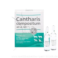 CANTHARIS COMPOSITUM ad us.vet.Ampullen - 5St - Homöopathie