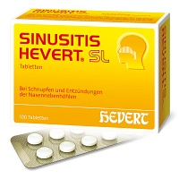 SINUSITIS HEVERT SL Tabletten - 100St - Alles f�r das Kind
