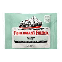 FISHERMANS FRIEND mint Pastillen - 25g - Fishermans Friend