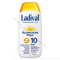LADIVAL allergische Haut Gel LSF 10 - 200ml - Allergische Haut