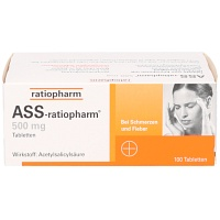 ASS-ratiopharm 500 mg Tabletten - Schmerzen