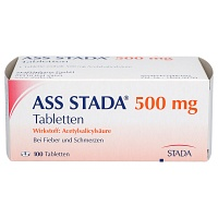 ASS STADA 500 mg Tabletten - Schmerzen