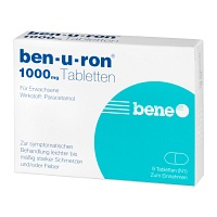 BEN-U-RON 1.000 mg Tabletten - Grippe & Fieber