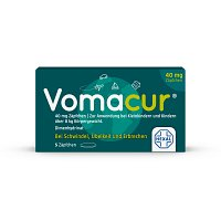 VOMACUR 40 Suppositorien - Übelkeit & Schwindel