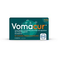 VOMACUR 70 Suppositorien - 5St - Übelkeit & Schwindel