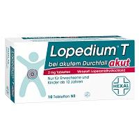 lopedium t akut bei akutem durchfall tabletten 10 st. Black Bedroom Furniture Sets. Home Design Ideas