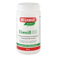 EIWEISS 100 Cappuccino Megamax Pulver - 400g - Basic & Active