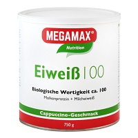 EIWEISS 100 Cappuccino Megamax Pulver - 750g - F�r Sportler