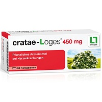 CRATAE LOGES 450 mg Filmtabletten - Dr. Loges