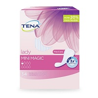 TENA LADY mini magic Einlagen - 34St - Einlagen & Netzhosen