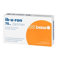 IB-U-RON 75 mg Suppositorien - 10St - Schmerzen
