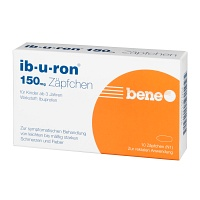 IB-U-RON 150 mg Suppositorien - 10St - Schmerzen