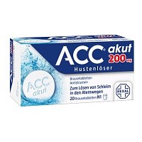 ACC akut 200 Brausetabletten - 20St