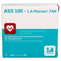 ASS 100-1A Pharma TAH Tabletten - Blutverdünnung