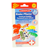 KINDERPFLASTER Mix - 30St - Pflasterstrips