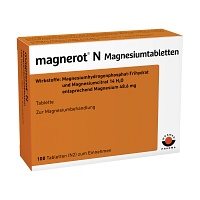 MAGNEROT N Magnesiumtabletten - Magnesium