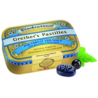 GRETHERS Blackcurrant Gold zh.Past.Dose - 110g - Bonbons