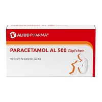PARACETAMOL AL 500 Suppositorien - 10St - Fieber & Schmerzen