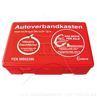 Count Price klick Autoverbandkasten rot -       1St - Count Price klick
