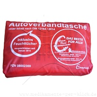 Count Price klick Autoverbandtasche rot - Count Price klick
