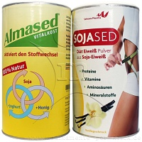Almased Vitalkost + Sojased Diaet Eiweiss - 2 X 500g