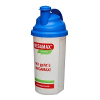 MEGAMAX Mixbecher blau - Energy-Drinks