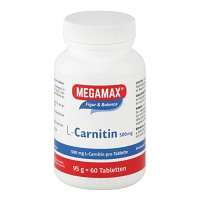 MEGAMAX L-Carnitin 500 mg Tabletten - Für Sportler