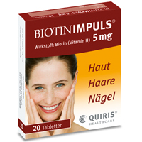 BIOTIN IMPULS 5 mg Tabletten - 20St - Biotin