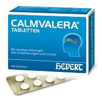 CALMVALERA Hevert Tabletten - Stress & Burnout